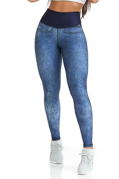 Cajubrasil Leggings Double Face Fancy (Reversible) - 11692
