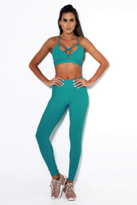 CANOAN LEGGINGS COMFORTABLE - JADE - MYSPORTYSHOP