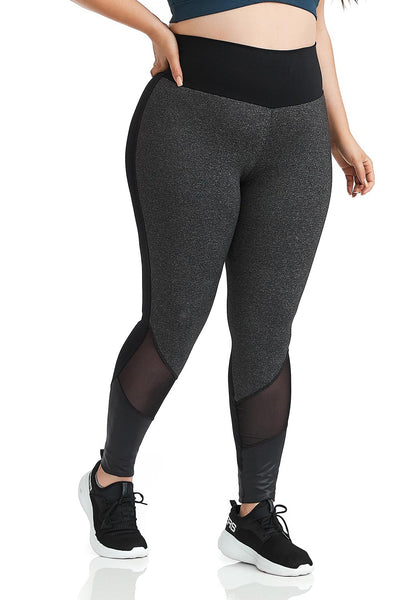 Cajubrasil NZ Power Plus Size Legging Pants - Plus Size-8010