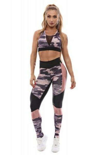 brazilian fitness set camouflage
