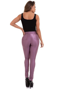 lilac cirre pants with back pockets