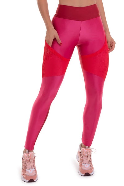 Cajubrasil Legging Atletika Pocket Pink - 11357.178