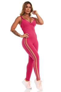 Cajubrasil NZ Fancy Pink Jumpsuit - 11453.178