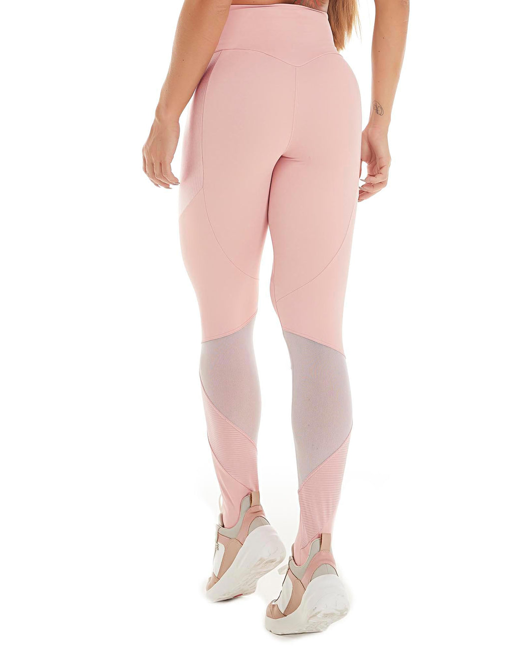 Let's Gym Legging Canelle Shine - Rose - L784