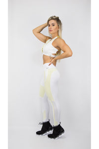 white non transperent leggings