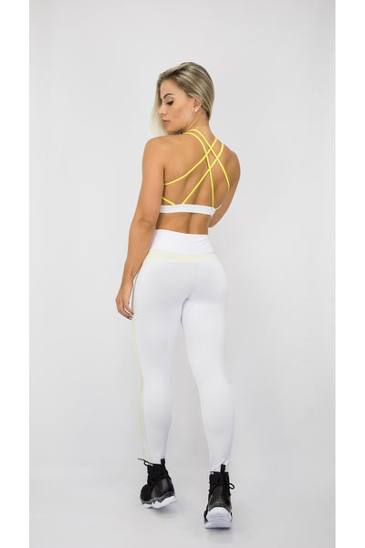 Leggings ZNG White Fusion