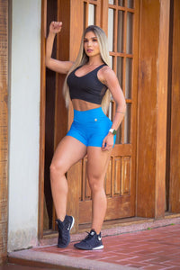 My Sporty Wear HERstory Evelyn Turquoise Shorts