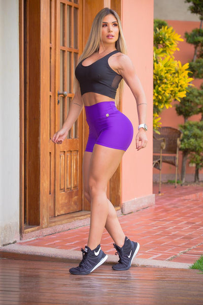 My Sporty Wear HERstory Miley Violet Shorts