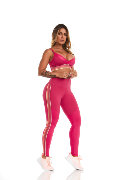 Cajubrasil NZ Summer Pink Legging