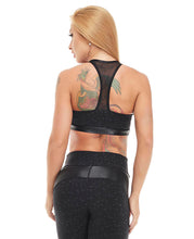 Let's Gym Top Star - Black - T827