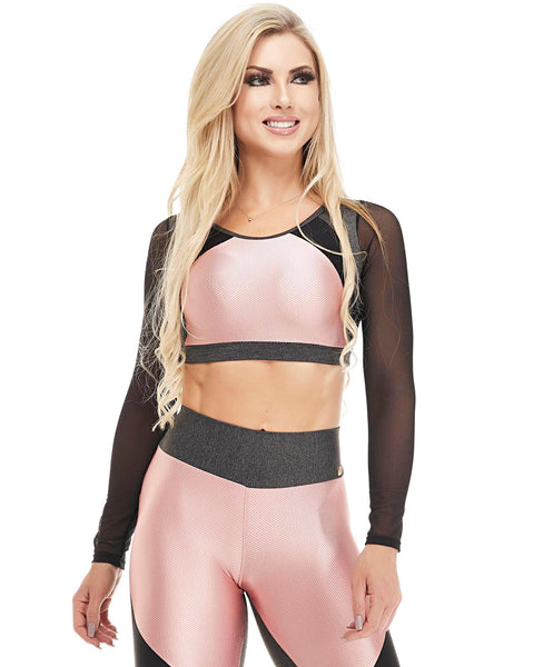 Let's Gym Fitness Top Action - T844
