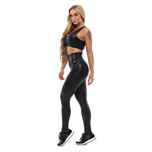 Let's Gym Top Essential - Black - T868