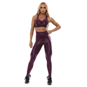 Let's Gym Top Essential - Purple  -T868