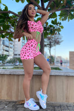 pink strawberry fitness set