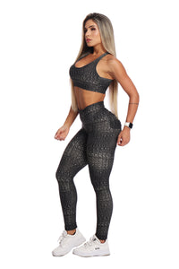 My Sporty Wear Unapologetic Legging - Crocodile