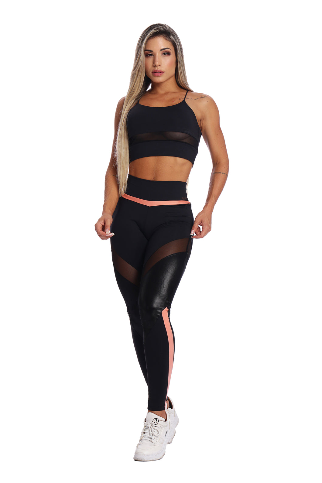Zng Morion Coral Leggings
