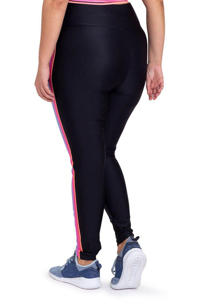 Cajubrasil Plus Size Celebrate Legging Pants - Black