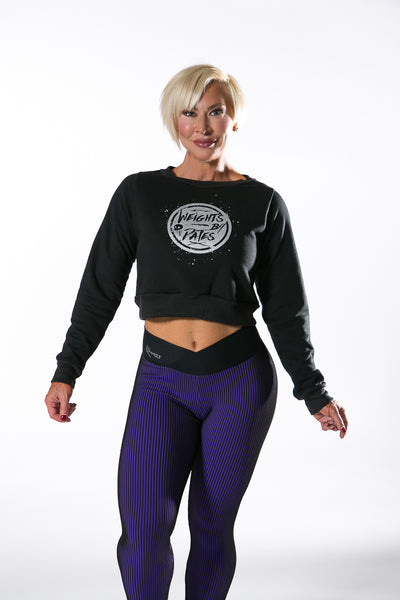 MY SPORTY WEAR WEIGHTS B4 DATES SWEATSHIRT - BLACK - MYSPORTYSHOP