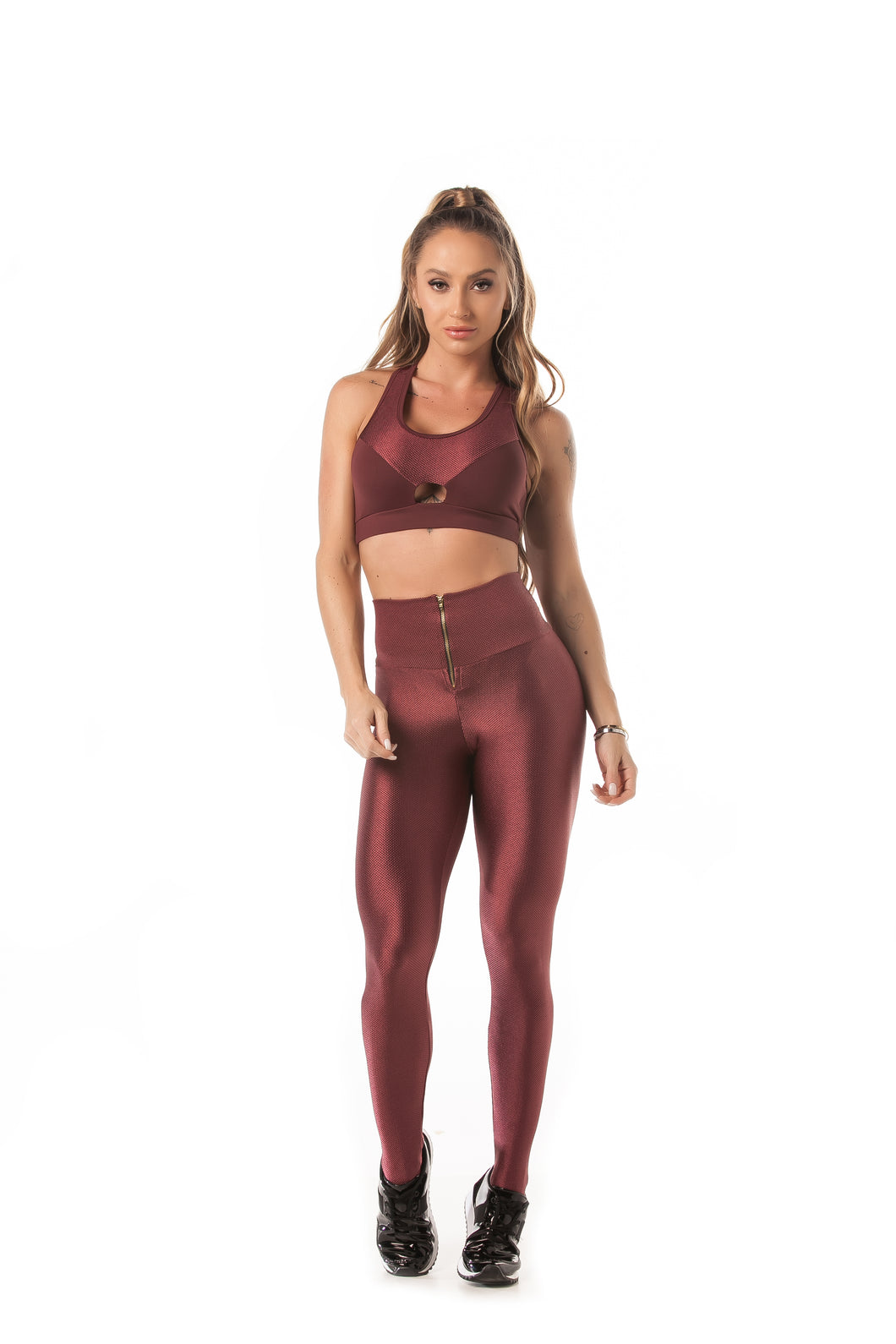Let's Gym Leggings Tech Glam