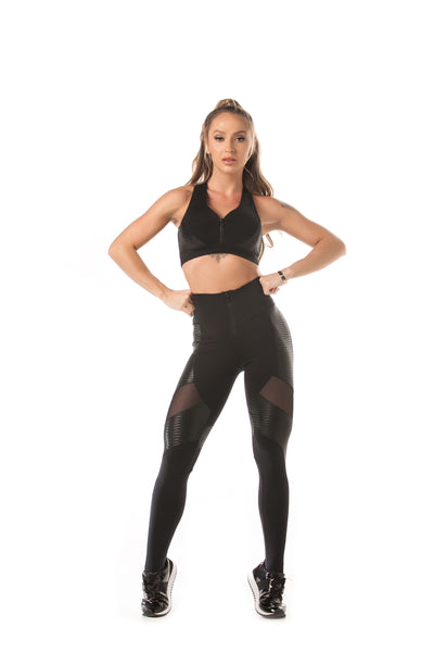 Let's Gym Legging Action Glam Black