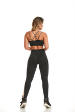CAJUBRASIL TOP NZ BICOLOR - BLACK - MYSPORTYSHOP