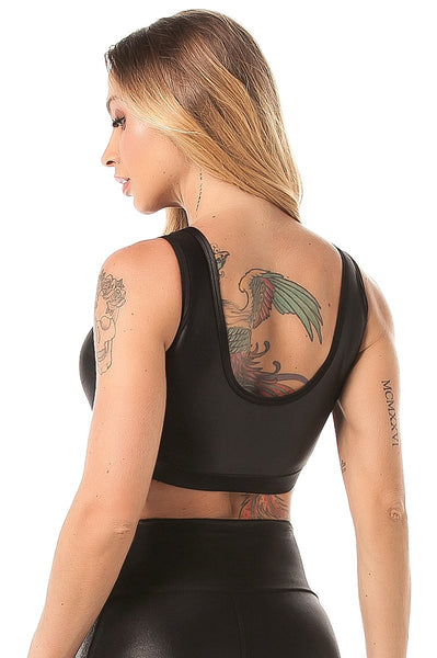 Gym Top Active Lux Black