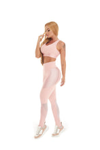 Let's Gym Legging Canelle Shine - Rose