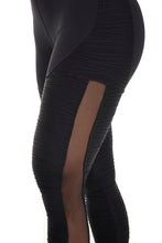 Let's Gym Leggings Atakama  - Black - L798