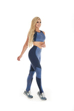 Let's Gym Legging Galaxy New - Royal Blue