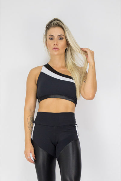 ZNG Top Black Stripe