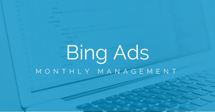Bing Ads Management (Monthly)