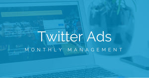 Twitter Advertising Management (Monthly)