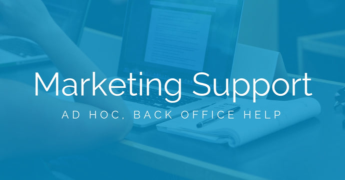 Ad-hoc Marketing Support