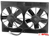"11"" DUAL SPAL ELECTRIC FAN - STRAIGHT BLADE"