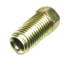"3/16"" LONG STEEL INVERTED FLARE NUT - QTY 2"