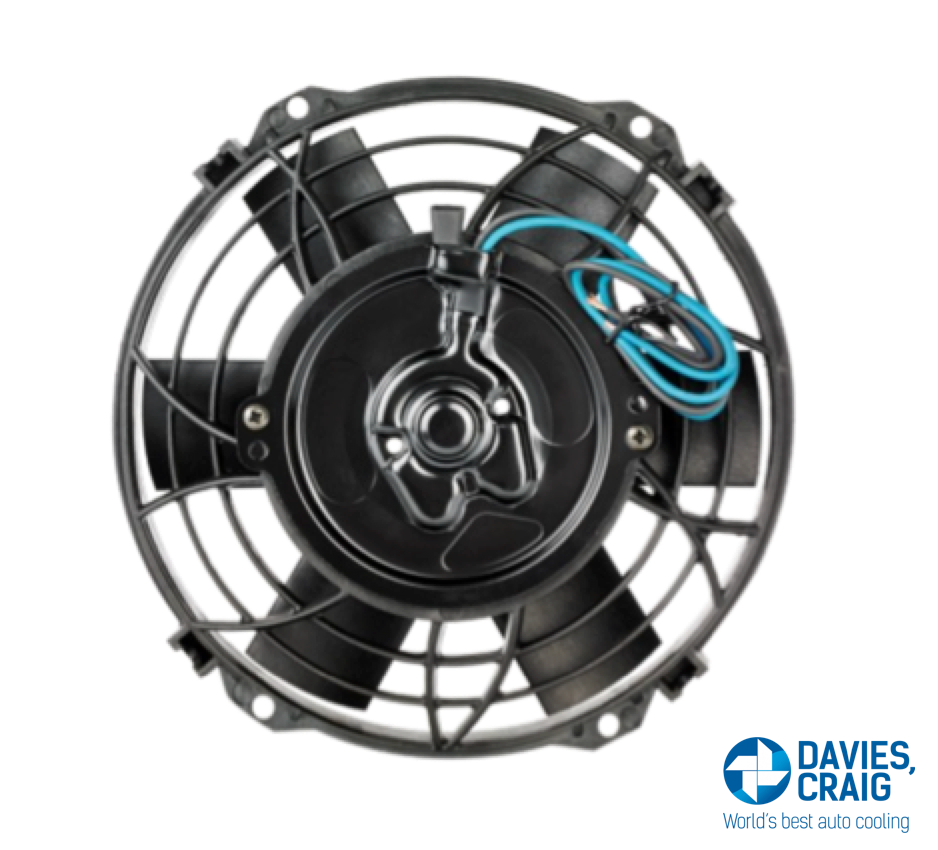 "8"" DAVIES CRAIG ELECTRIC FAN - STRAIGHT BLADES"
