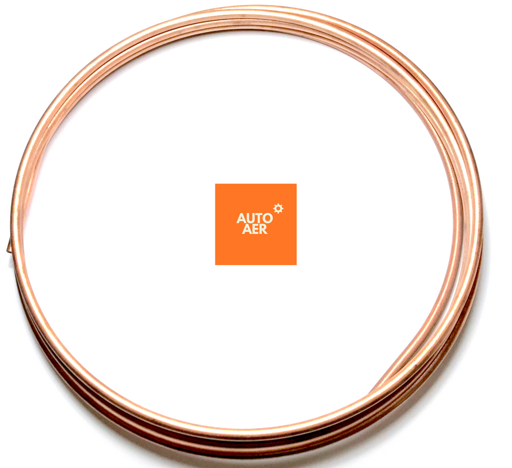 "3/8"" STEEL BUNDY TUBING - COPPER COATED"