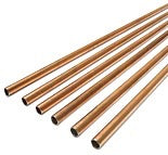 "1/4"" STEEL BUNDY TUBING - COPPER COATED"