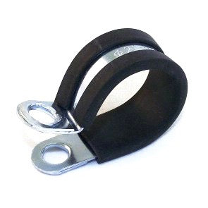 "3/16"" RUBBER LINED CLAMP  - QTY 4"