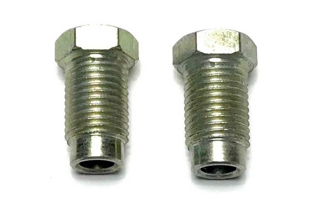 "3/16"" LONG RELIEVED STEEL INVERTED FLARE NUT - QTY 2"
