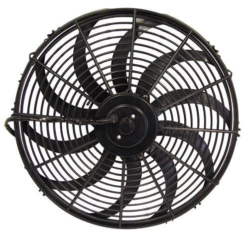 "16"" ELECTRIC THERMO FAN - CURVED BLADES"