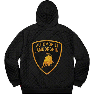 "Supreme X Lamborghini ""Automobili"" Light Hooded Jacket"