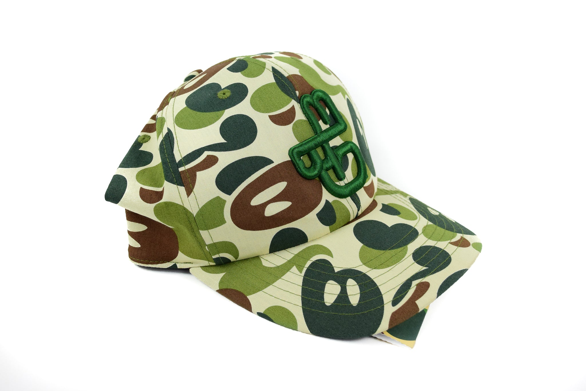 "A Bathing Ape ""Milo Camo"" Fitted Hat"