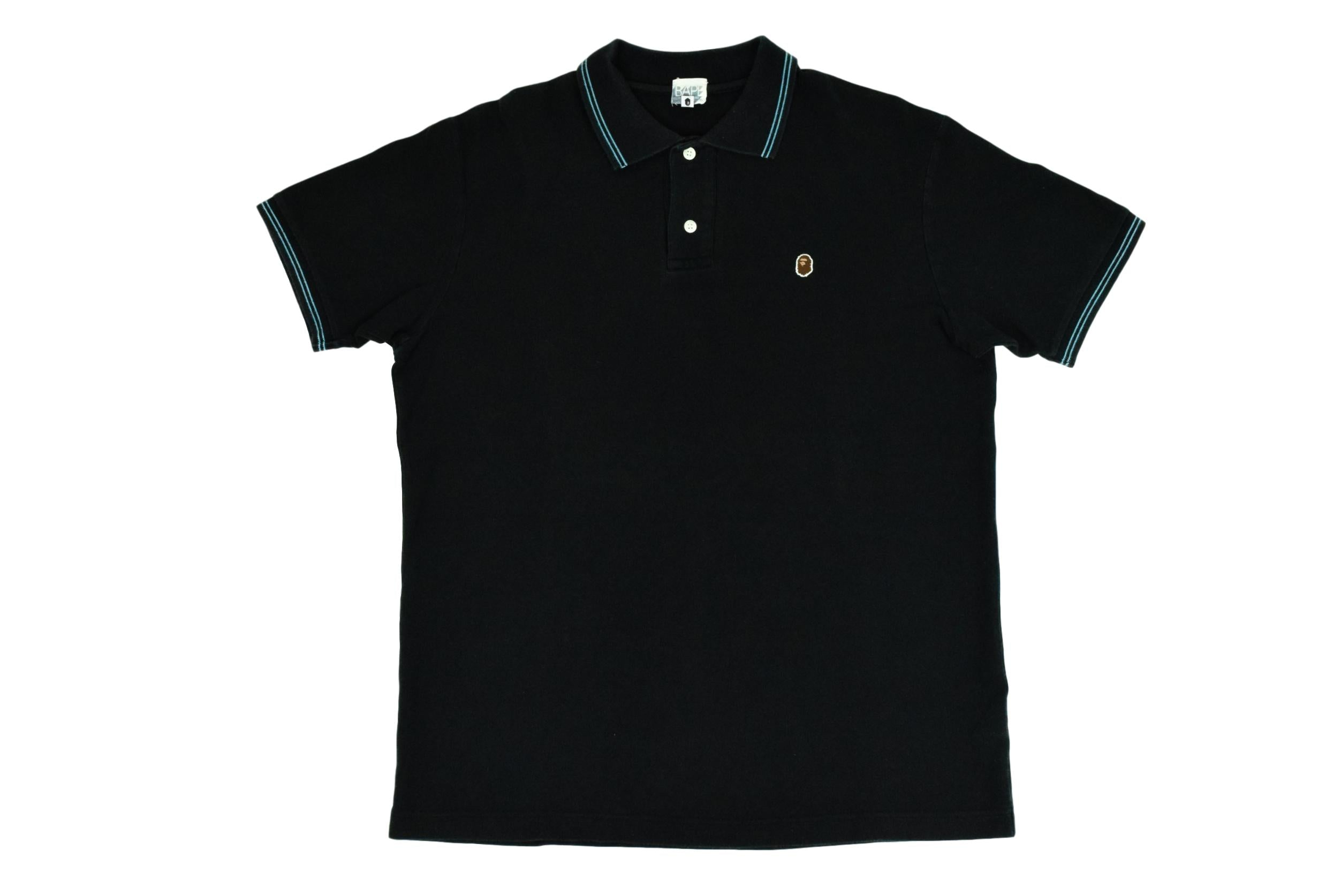 "A Bathing Ape ""Ape Head"" Polo"
