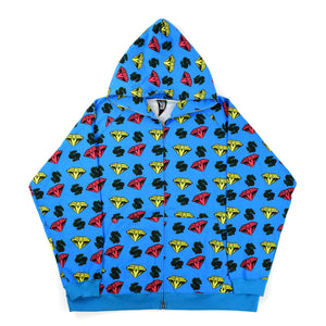 "Billionaire Boys Club ""Diamond & Dollar"" Full-Zip Hoodie"