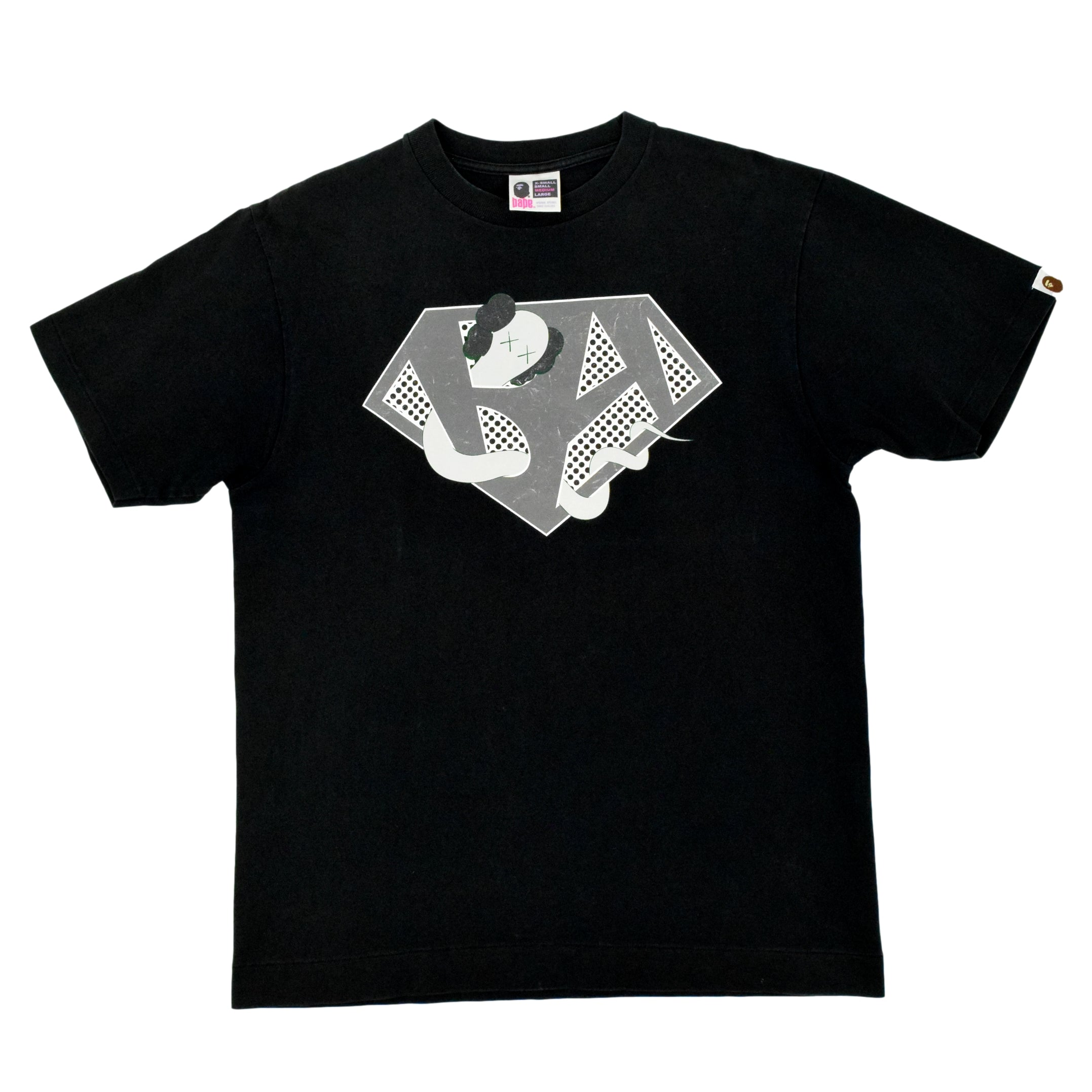 "A Bathing Ape X KAWS ""Bendy"" T-Shirt"
