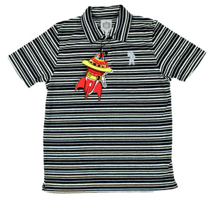 "Billionaire Boys Club ""Striped"" Polo"
