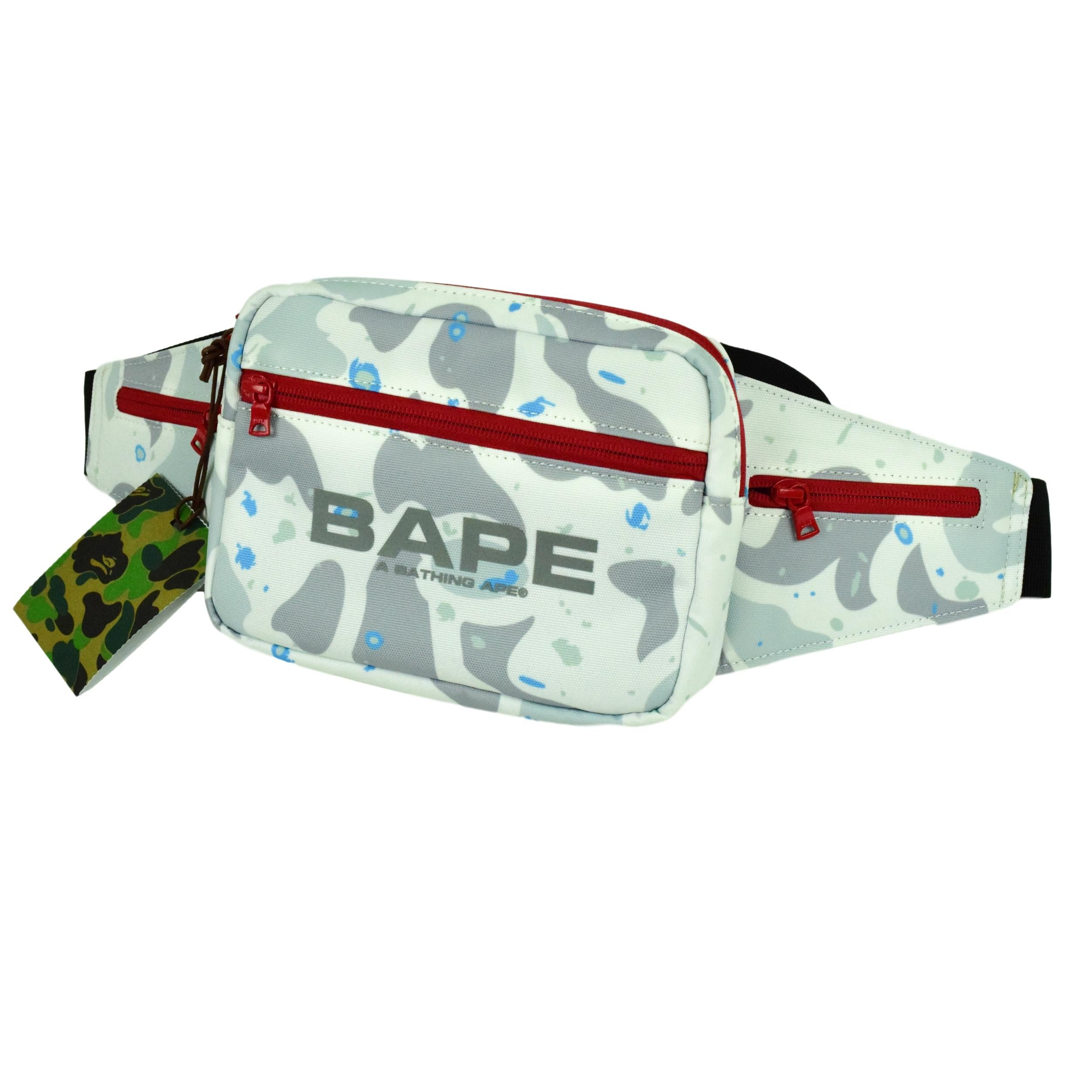 "A Bathing Ape ""Space Camo"" Waistbag"