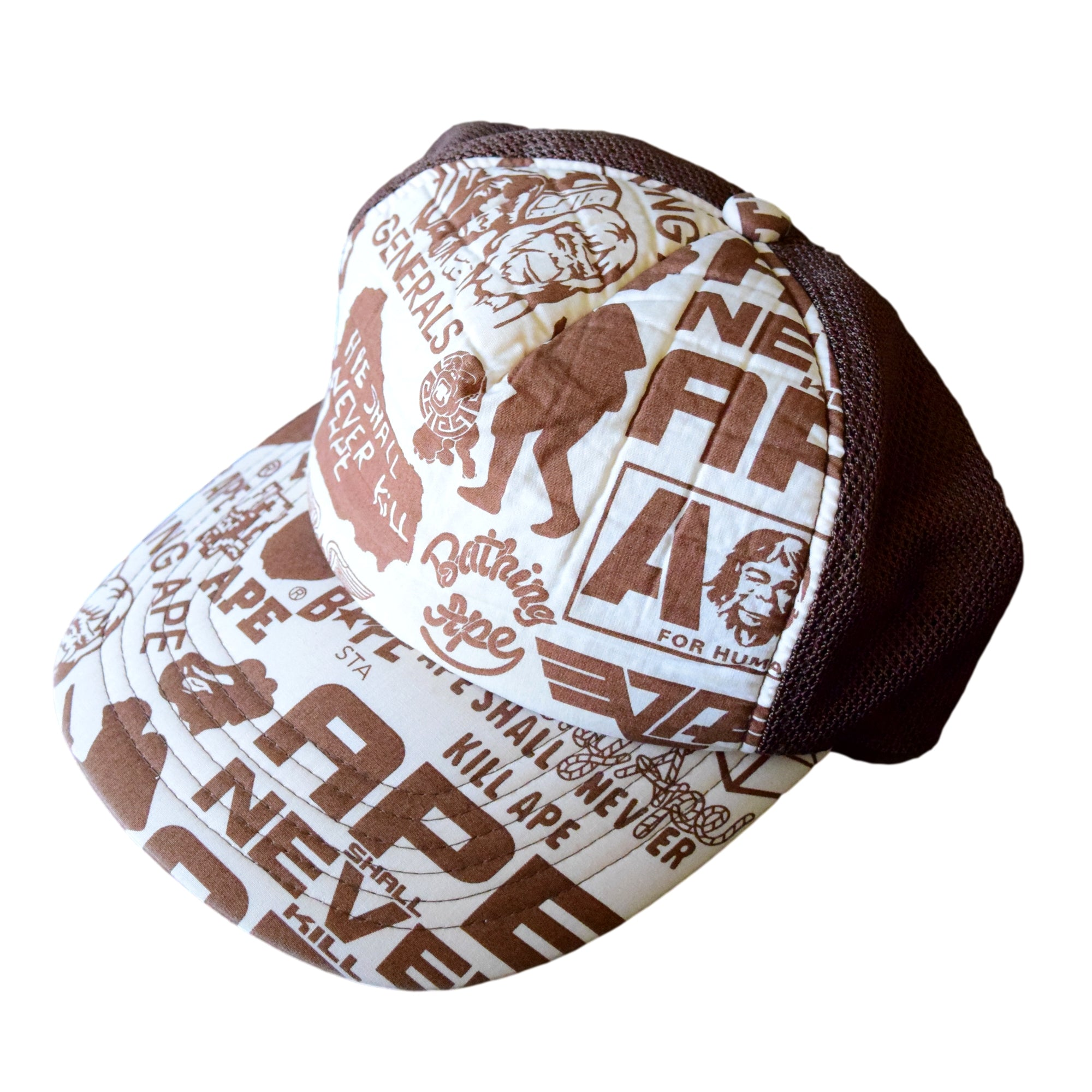 "A Bathing Ape ""All Logo"" Trucker Hat"