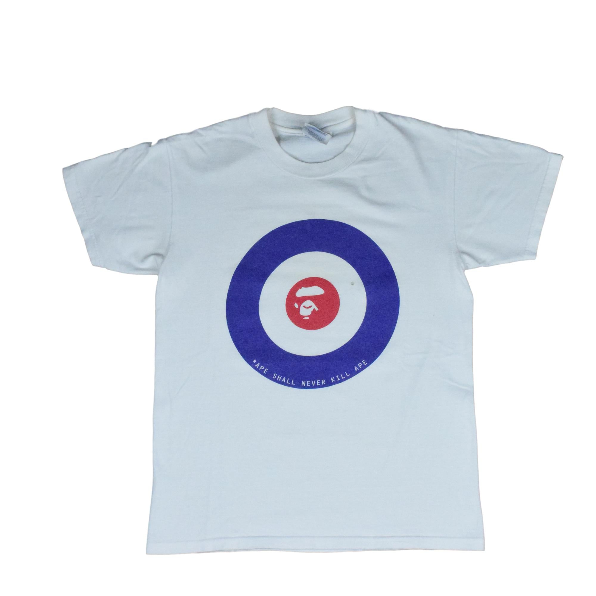 "A Bathing Ape ""90's Circle Logo"" T-Shirt"